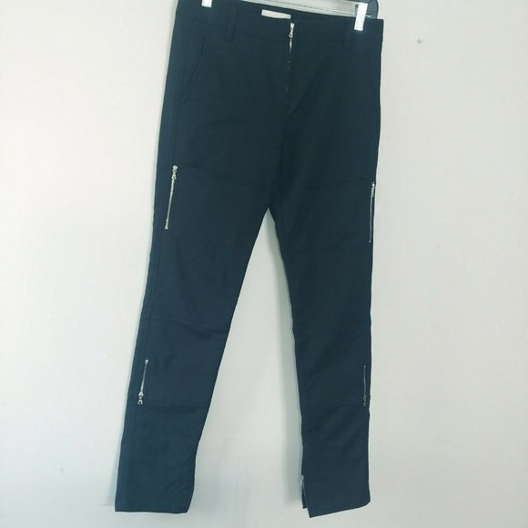 3.1 Phillip lim Women Moto Pants 4 Exposed Zipper